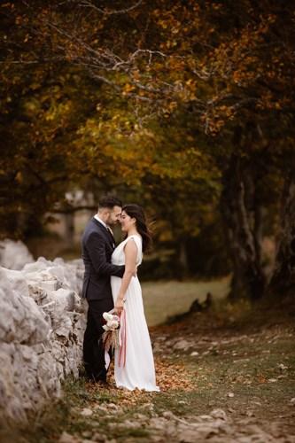 Creux du Van-mariage-photographe-microwedding-Autoumn style