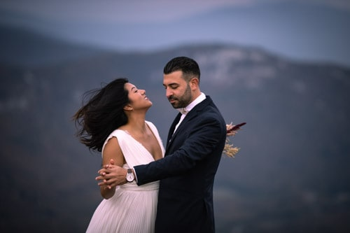 wedding dance-elopement-mountain-Switzerland-photographer