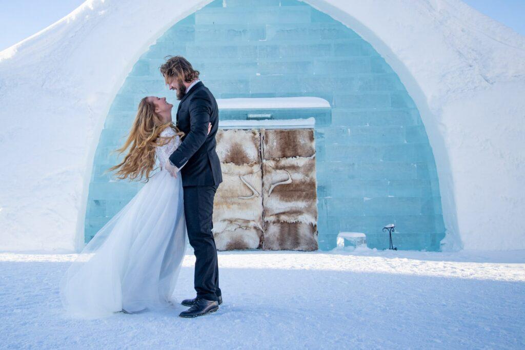Bästa-bröllops-ceremoni-platsen-Ishotellet-Jukkasjärvi