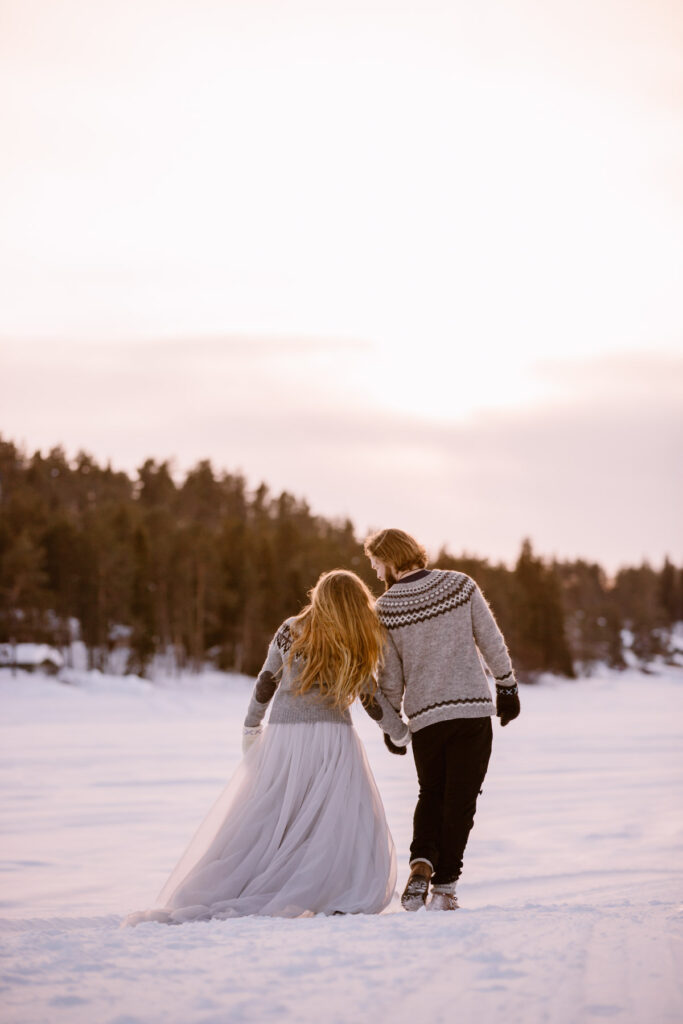 winter-elopement-wedding-tull-skirt-dress