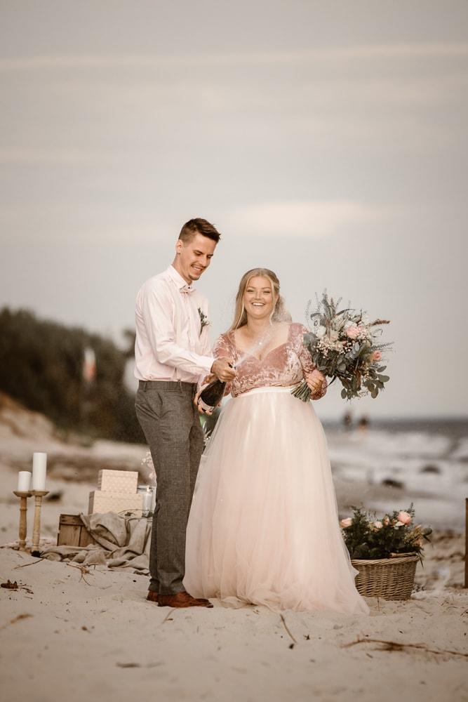 strandbröllop-Sandhammaren